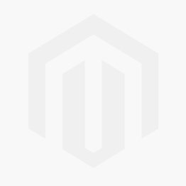 Dorian Black Glass And Stainless Steel Side Table 65cm